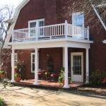 c Huston side porch
