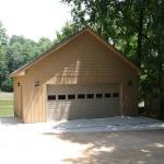 d Garage with single door