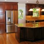 b4 Kitchen view with refrigerator