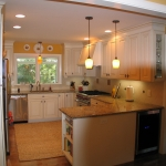 a3 Kitchen Remodel, opened wall