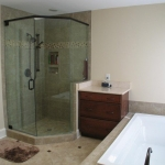 b3 New Shower and tub