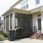 t1 side view of Porch with Architectural Columns