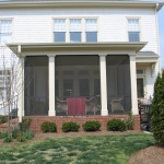 t2 Porch with Architectural Columns