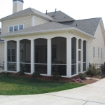 d2 Screened Porch with Columns
