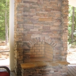 c4 Jordahl Close up of Fireplace on Screen Porch
