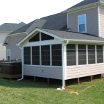 i4 Long Screen Porch-side view