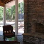 c3 Jordahl Fireplace on Screen Porch