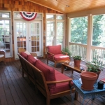 a1 Duke Screen Porch Interior on existing deck
