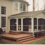 u Screen Porch with Deck