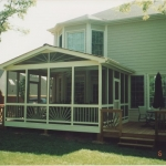 x1 Screen Porch on 2 story house