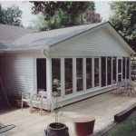 c1  Sunroom redone, expanded and deck renovation